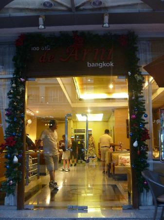 De Arni Bangkok: entrance