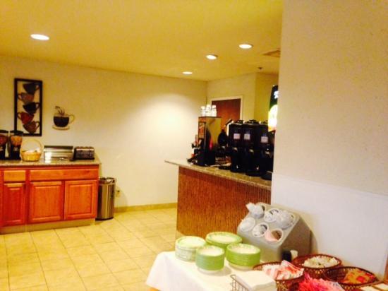 Baymont Inn & Suites Hagerstown : Breakfast Room