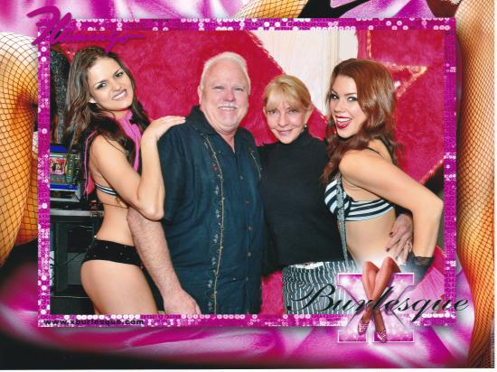 X Burlesque: After the show picture