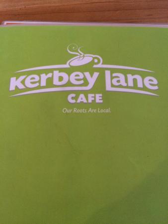 Kerbey Lane Cafe: Menu cover