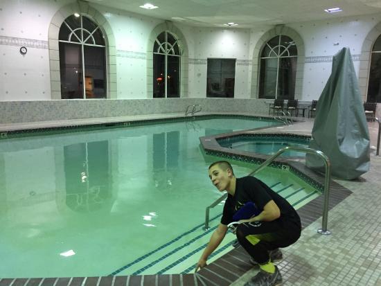 Hampton Inn & Suites Boise Spectrum : Big indoor pool. Clean