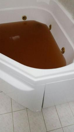 This Was The Colour Of The Water Coming Out Of Our Shower