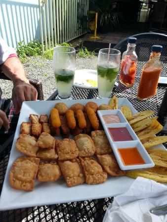 Edelweiss Grill & Bar : The appetizer sampler