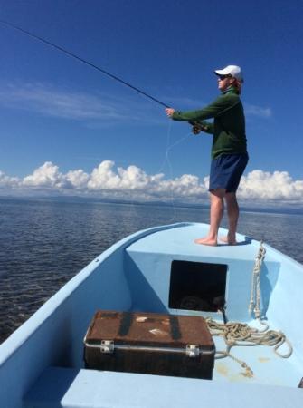 Blue Marlin Beach Resort: Great fun fishing!