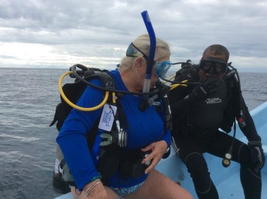 Blue Marlin Beach Resort: Super Diving!!!