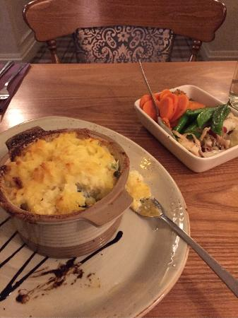 The Kings Arms Hotel: Fish pie, really nice on a cold evening!