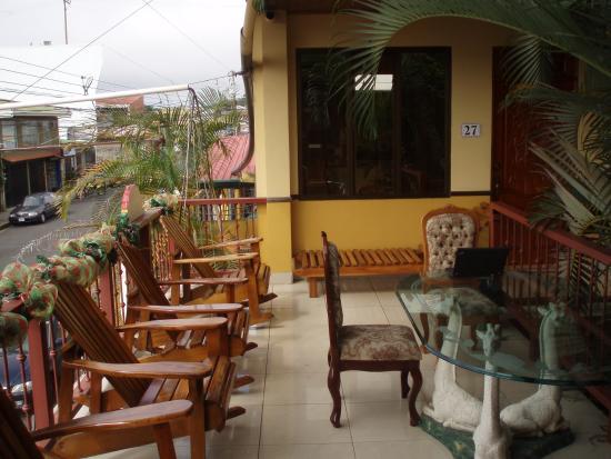 """La Posada Hotel: Balcony """"across the street"""""""