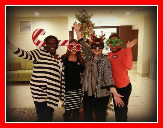 Hilton Garden Inn Knoxville/University: Leadership Team having fun with Guests