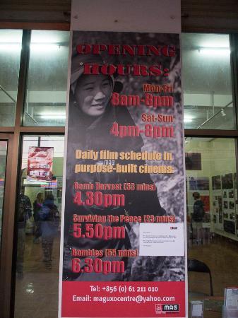 MAG UXO Visitor Information Centre