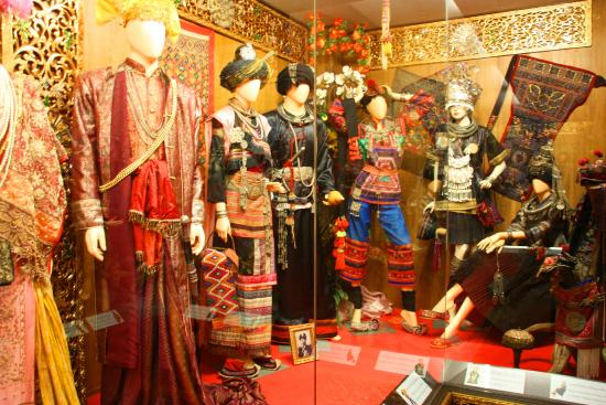 Oub Kham Museum: inside