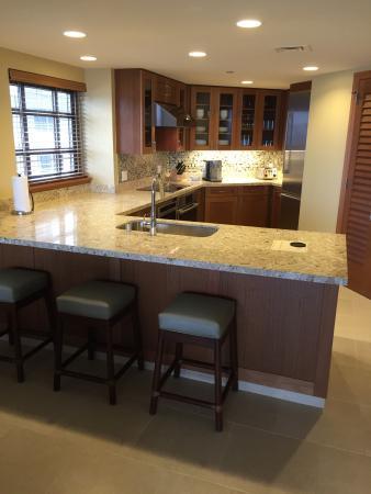 Hyatt Residence Club Maui Ka Anapali Beach 3 Bedroom Unit Kitchen Roomy