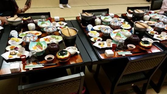 Yumei Hotel: truely Japanese food!