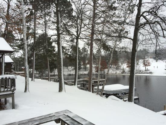Chanticleer Inn: View from deck