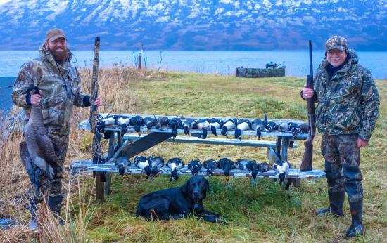 Fantastic haul of sea ducks picture of kodiak for Kodiak fishing charters
