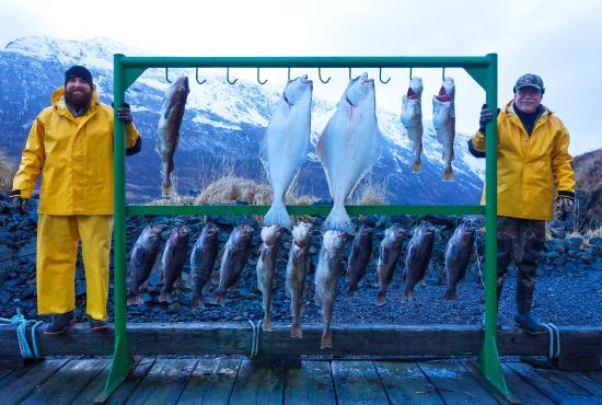 Kodiak Island, AK: Simply a great day of fishing!