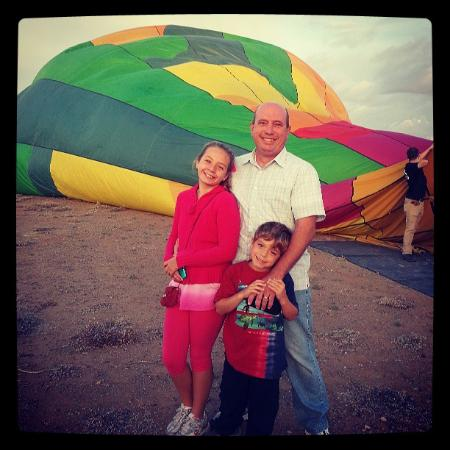 Hot Air Expeditions: Watching the crew inflate the balloon