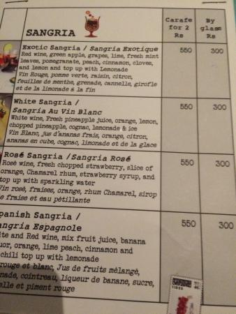 Long Beach Golf & Spa Resort: Not even a glass of sangria is included!