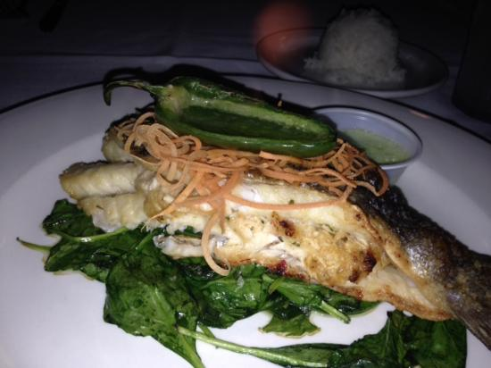 Redfish Seafood: Branzino