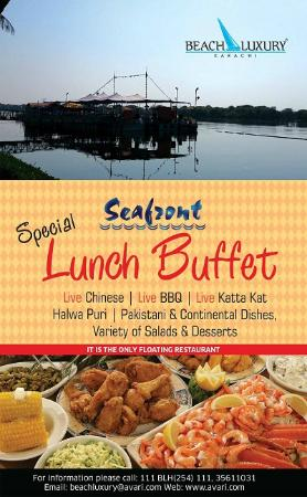 Lunch At Our Seafront Floating Restaurant Picture Of Beach Luxury