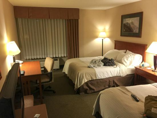 Holiday Inn Bozeman: Looking into hotel room