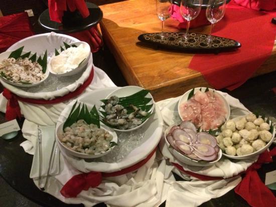 """Maya Sari Restaurant: Ужин """"Приготовь себе сам"""""""