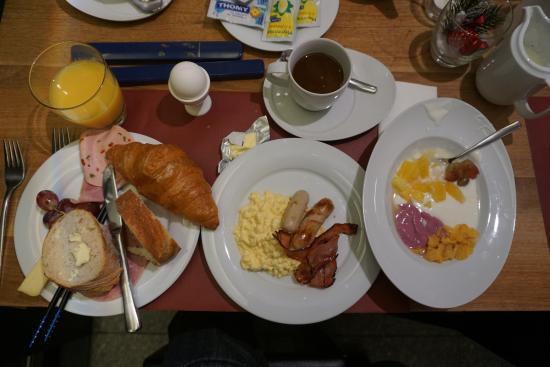 Hotel Sommerau : 私が食べた朝食です。