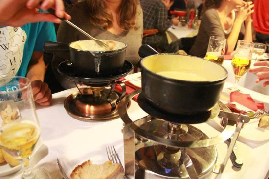 La Bergerie du Gruyérien: Our fondues