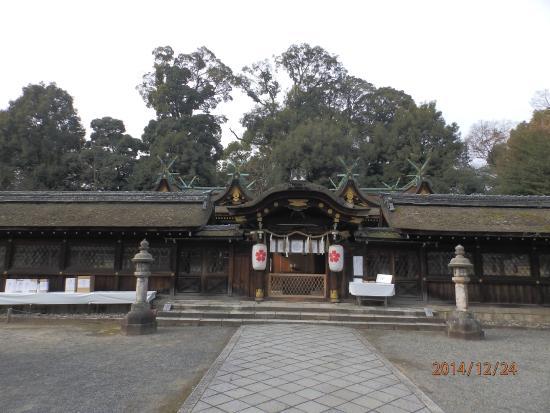 Hirano Shrine: 拝所