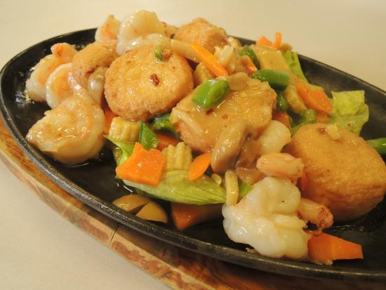 China City Garden Restaurant: King Prawn Japanese Tofu