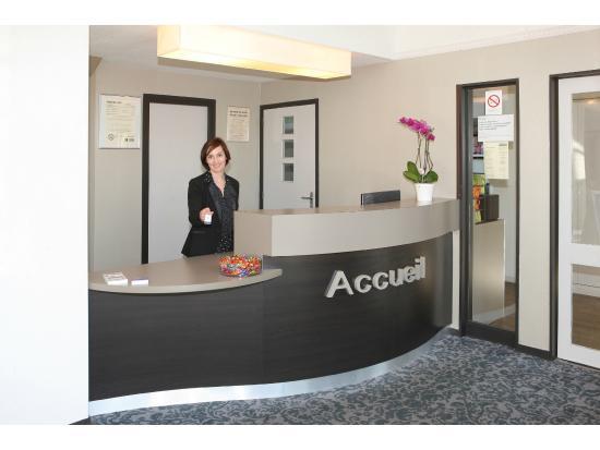 Villemandeur, فرنسا: La réception de l'hôtel