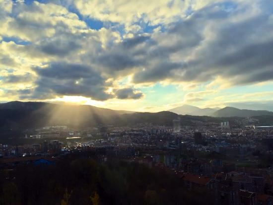 Restaurante Kate Zaharra: Vista de Bilbao