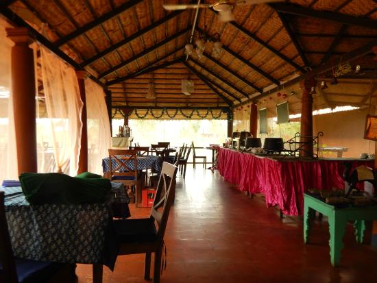 Restaurant At Red Earth Kabini Picture Of Red Earth