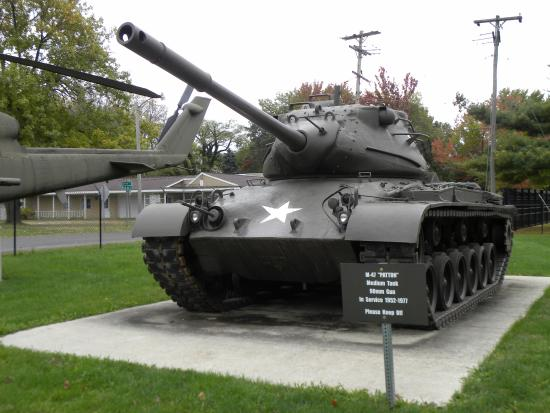 Illinois State Military Museum : outside the museum building
