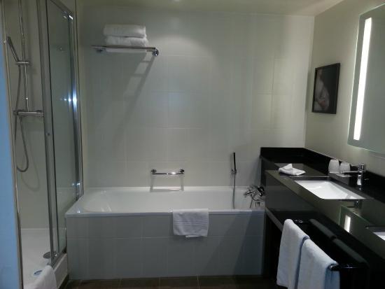bathroom photo de crowne plaza paris charles de gaulle roissy en france tripadvisor. Black Bedroom Furniture Sets. Home Design Ideas