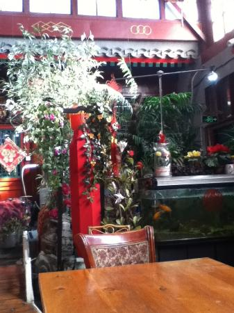 Red Lantern House: Red Lantern courtyard