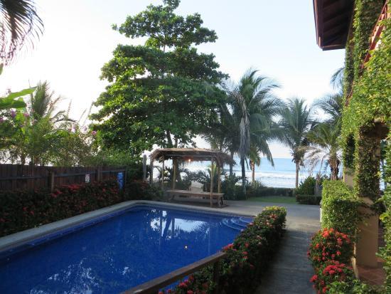 Backyard Hotel: Piscine accès plage
