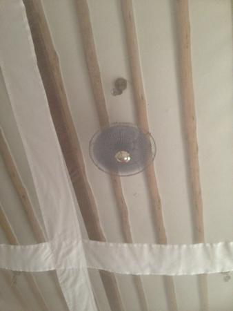 Galu Sea Lodge -Tamani : Ceiling Fan?