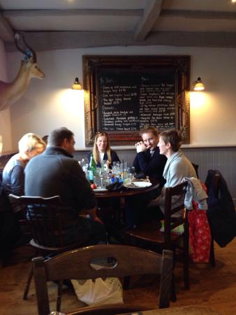 The Red Lion: More happy customers.