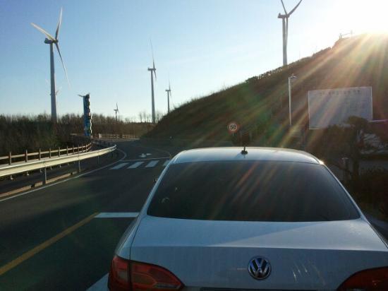 Yeongdeok-gun, Южная Корея: 영덕해맞이공원 풍력발전소