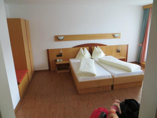 Pension Zillertal: Letto
