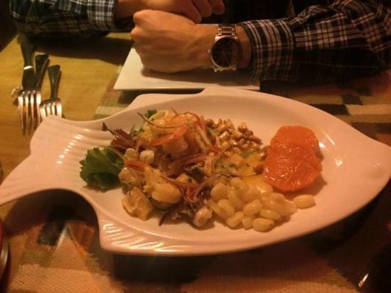 Inti Peruvian Cuisine : ceviche