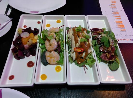 a picture of some dishes served - umamihan maastricht