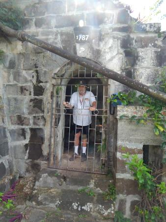 Fort Frederick: fort, Walter in the brig