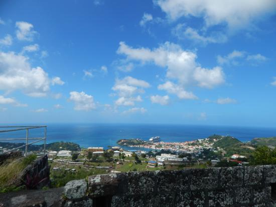 Fort Frederick: fort, view of the sea