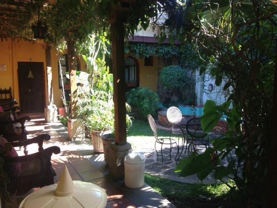 Hotel Casa Antigua: Courtyard