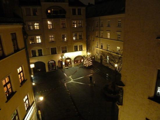 Hotel Am Markt : view from (comfort) room