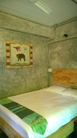 The Picturebook Guesthouse: the bed