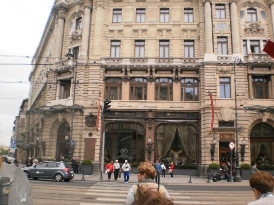 New York Cafe Prague