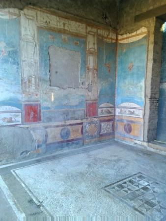 Casa della caccia antica foto di scavi di pompei pompei for Planimetrie della casa antica