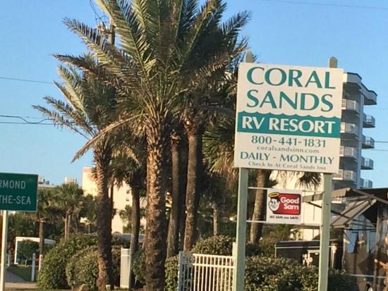 Coral Sands Inn & Seaside Cottages Ormond Beach: Entrance